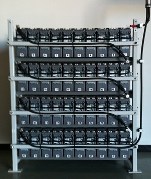 Battery Rack Series Floor Standing Steel Open Battery