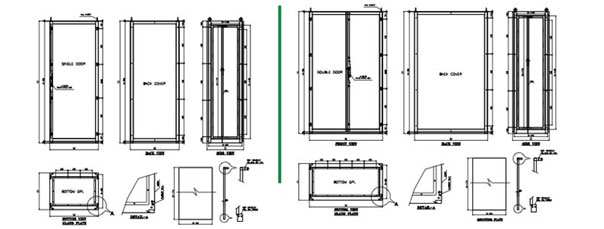 extendable enclosure series